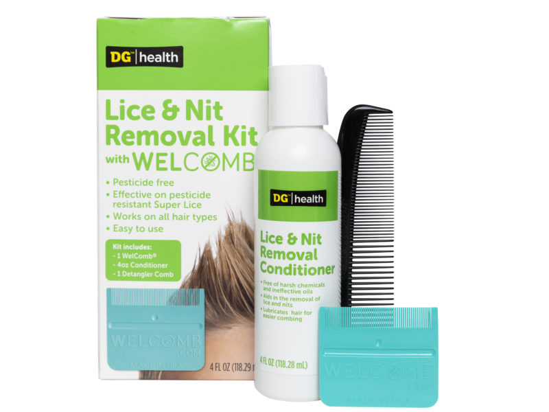 Introducing the Dollar General Lice & Nit Removal Kit Featuring WelComb®